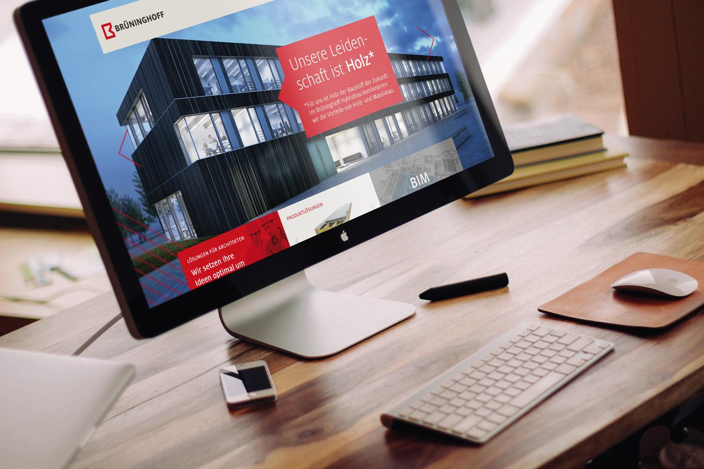 Neue Website für Brüninghoff