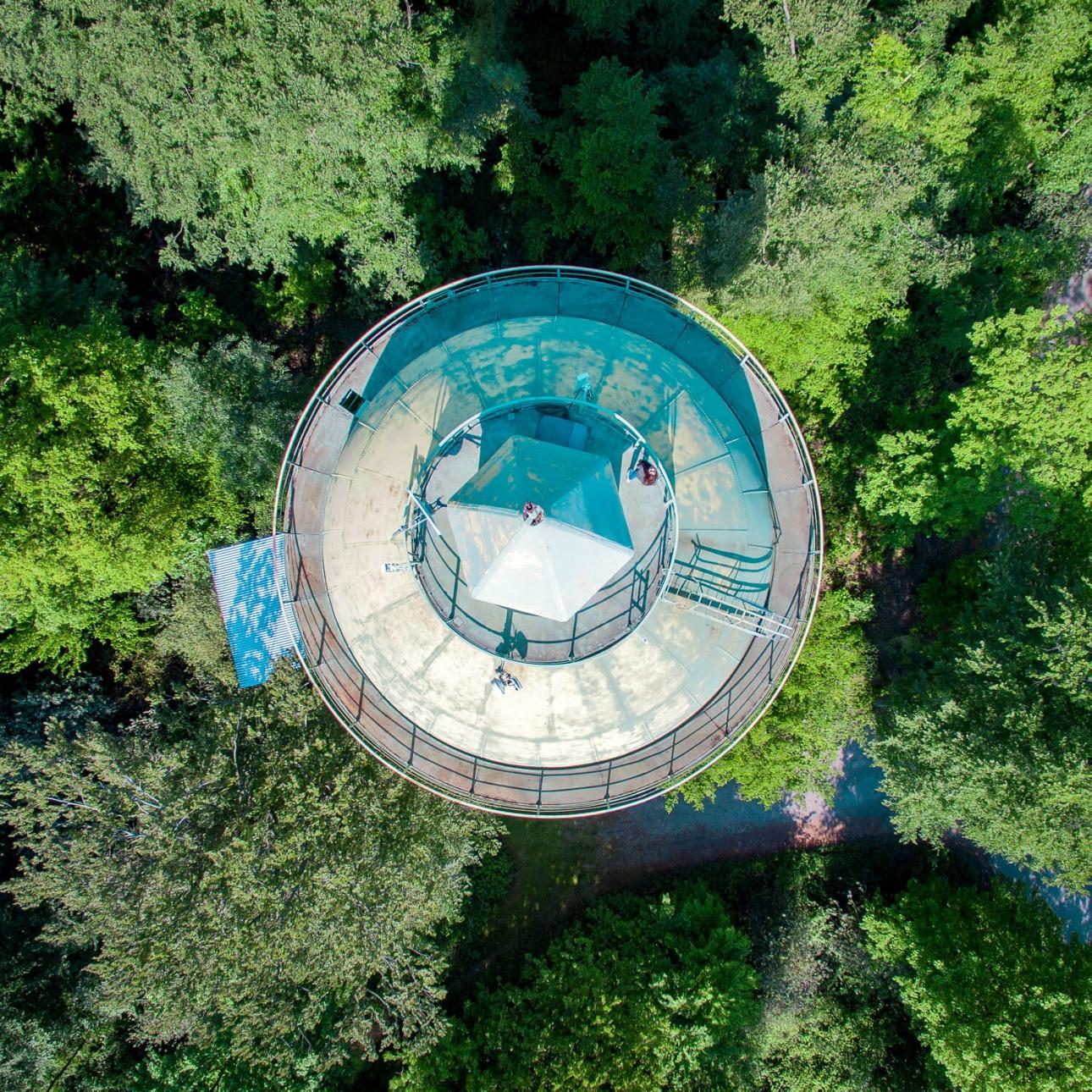 31M Wasserturm von oben