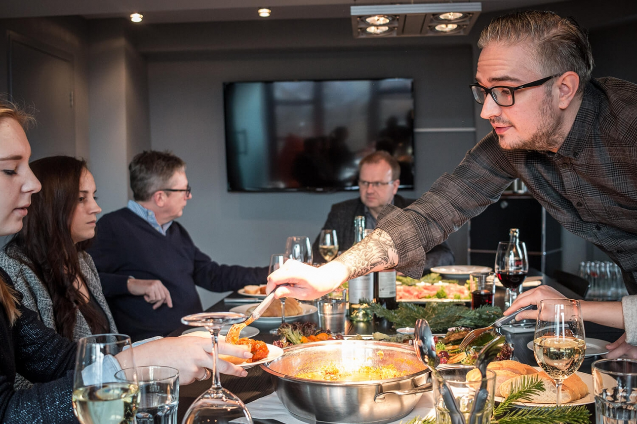 Lecker Essen beim Lauschgericht 2016