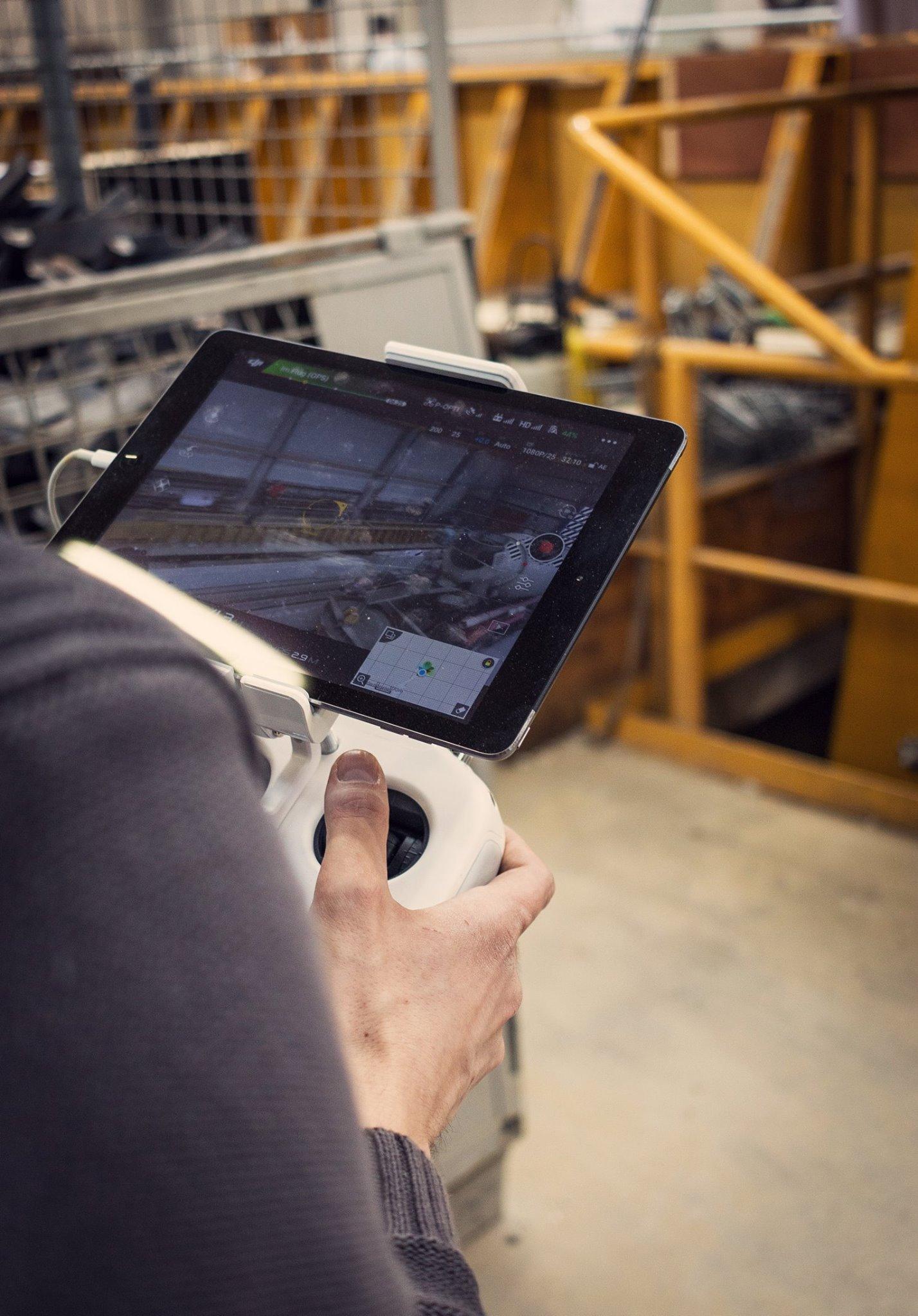 Indoor Drohnen-Aufnahmen