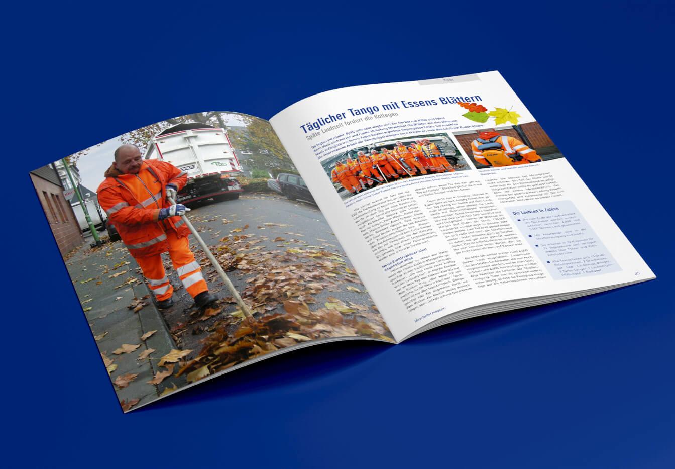 EBEnbild, das EBE-Magazin für Mitarbeiter