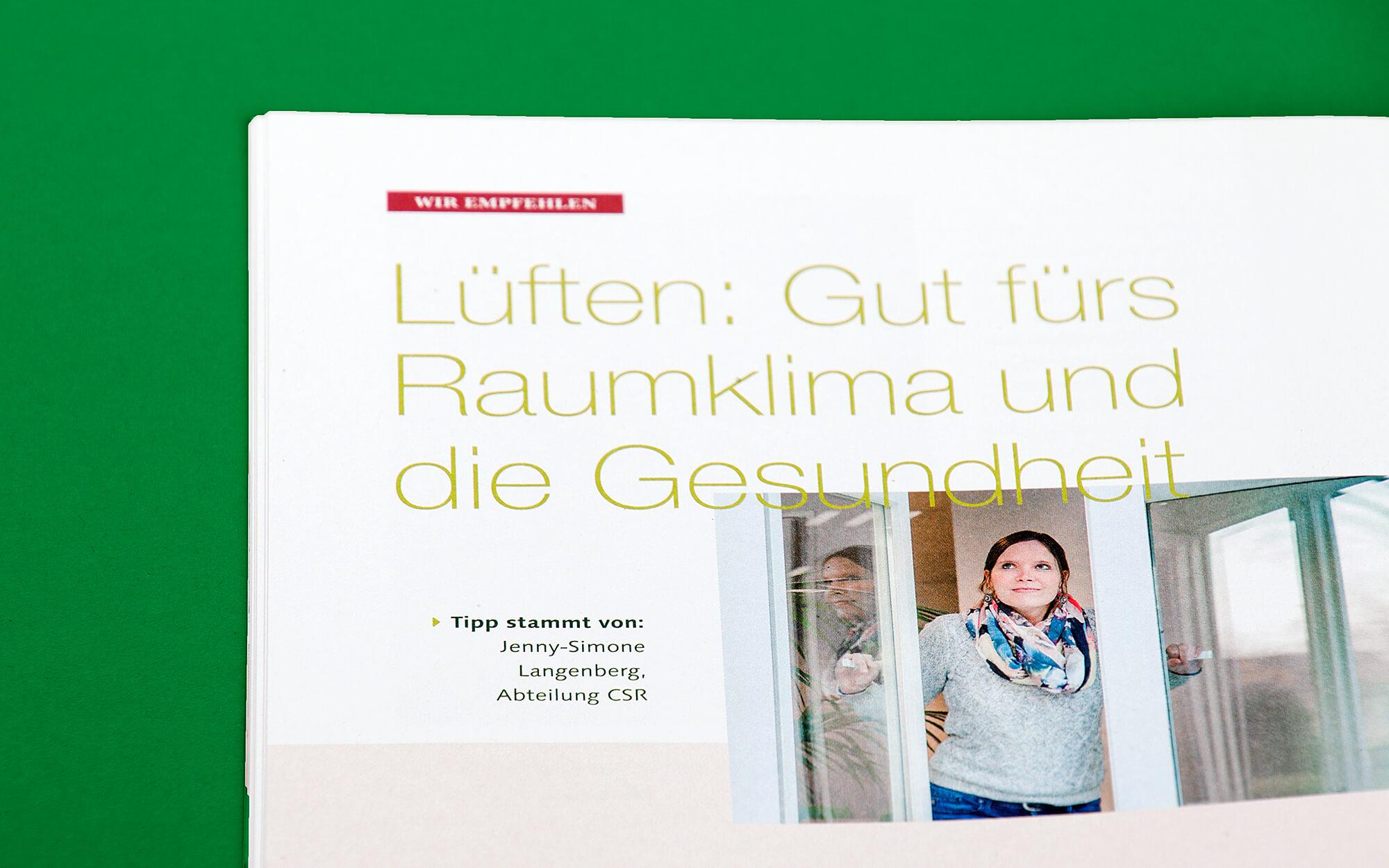 Unternehmensgruppe Tengelmann Mitarbeitermagazin